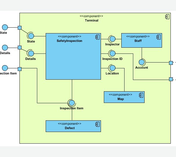 Component diagram uml 2 diagrams uml modeling tool component diagram ccuart Choice Image