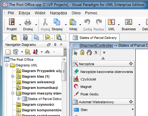 Multilingual support user interface uml case tool polish ccuart Choice Image