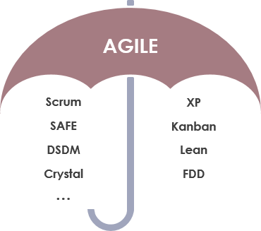 The agile umbrella