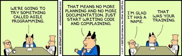 Agile Dilbert