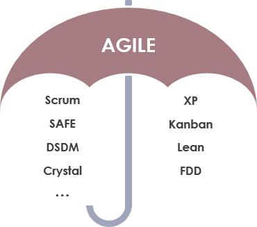 The agile umbrella