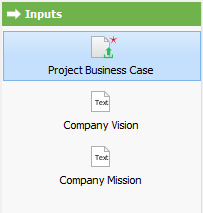 To open input project business case