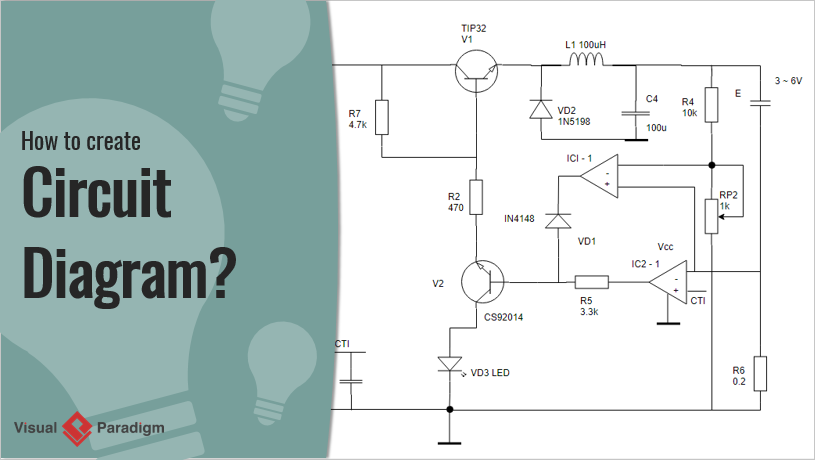 [SCHEMATICS_49CH]  How to Create Circuit Diagram? | Current Schematic Wiring Diagram |  | Visual Paradigm