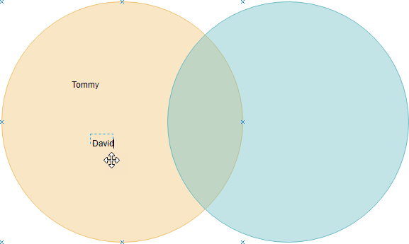 Editing Venn Diagram