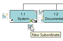 New subordinate for system